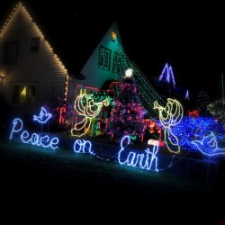Peace on Earth! The angels are nice.