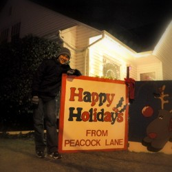 Happy Holidays from Peacock Lane! and me! ;P