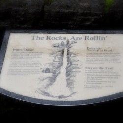 The rocks are rolling