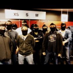 The Ninja Team (before the race)