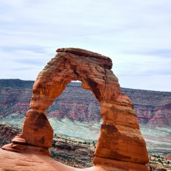 Delicate Arch, must see of the Arches National Park