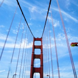 Oh, I am on the bridge! @ San Francisco