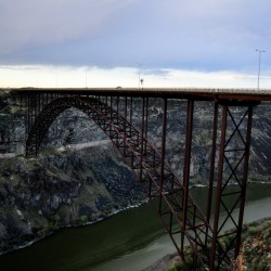 Perrine Bridge @ Twin Falls, Idaho