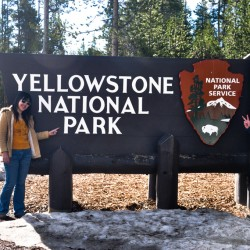 Well, the first National Park: Yellowstone :)