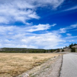 The weather, the sky, and the fields @ Yellowstone NP