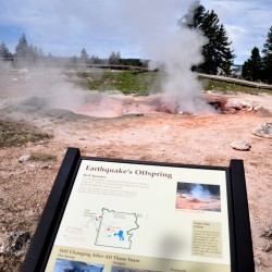 Hot Springs, Mudpot, Fumarole...Earthquake's Offspring