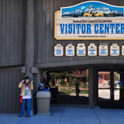 Jackson Hole Visitor Center @ Jackson, Wyoming