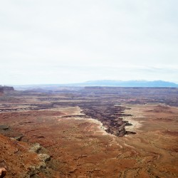 The Buck Canyon Overlook @ Canyonlands National Park