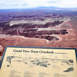 Grand View Point Overlook @ Canyonlands National Park
