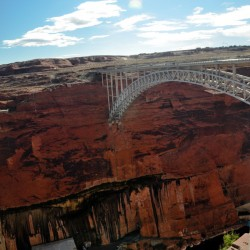 The Glen Canyon Bridge @ Glen Canyon Dam