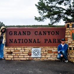 Finally, we reached Grand Canyon National Park