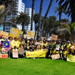 Bersih 3.0 @ Pasalide Park, Santa Monica, CA