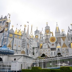 The entrance to the small small world @ Disneyland