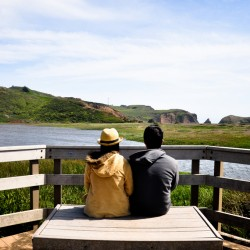 Enjoy the awesome view @ Rodeo Beach