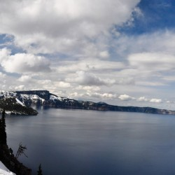 Another try for panorama, Crater Lake is just awesome...