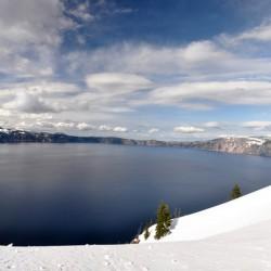 Crater Lake (panorama view)