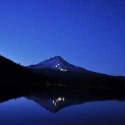 Trillium Lake @ around 10pm
